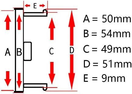 TAYDMEO 4PCS 54mm 49mm para Altima Maxima Murano Quest 2004-2010 Fit 50mm Emblema del Logotipo del autom/óvil Tapas centrales del Cubo de la Rueda del autom/óvil