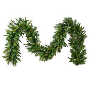 Vickerman Unlit Cashmere Pine Garland with 260 Tips, 9-Fe...