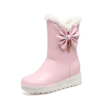 c7f9e7cc61ff4 Amazon.com: Hy Women's Booties Winter Comfort Snow Boots Boots ...