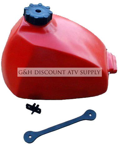 Wide Open Plastic Gas Fuel Tank for the 1973-1978 Honda ATC 90 & 1979-1982 Honda ATC 110 (Best Plastic Fuel Tank Repair)