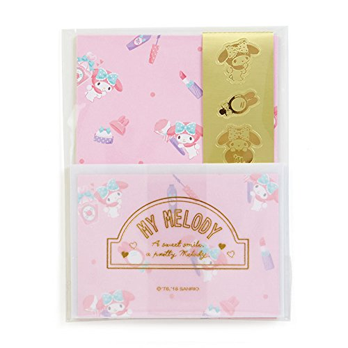Sanrio My Melody mini letter set Happiness Girl From Japan New (Asian Girls Calendar)