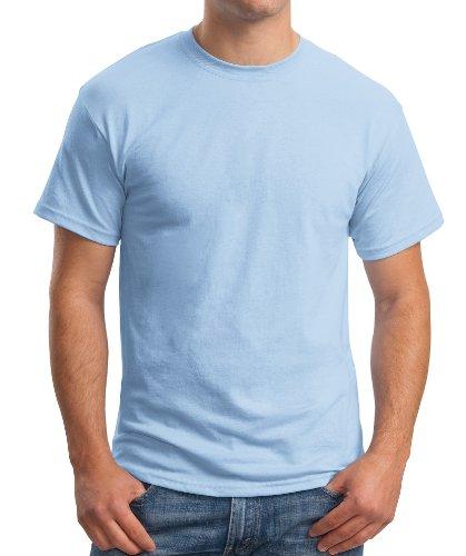 Clair Bleu Homme shirt T Hanes gnwq8xv60