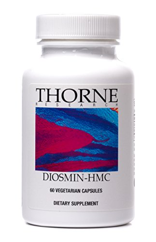 Thorne Research - Diosmin-HMC - Citrus Flavonoid Supplement to Support Blood Vessel Strength - 60 Capsules