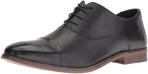 Steve Madden Mens Oxford - Steve Madden Men's Finnch Oxford, Black Leather, 10.5 M US