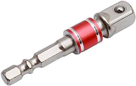 FUVOYA Impact Socket Adaptador//Conjunto de extensi/ón Convierte Taladro de Potencia en la Tuerca de Alta Velocidad Controlador 1//4 3//8 y 1//2 Unidad