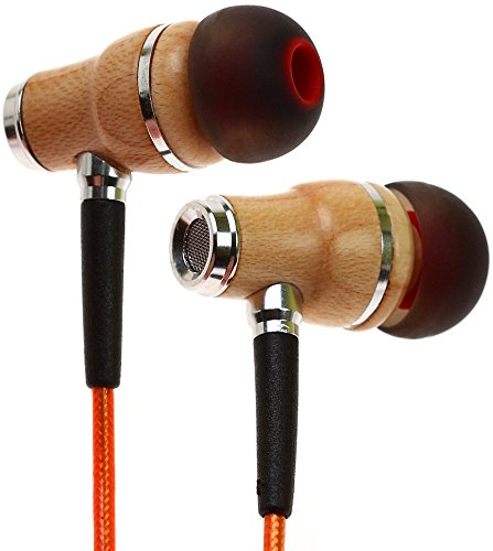 אוזניות ! Symphonized NRG 2.0 Earbuds | Wood In-ear Noise-isolating Headphones