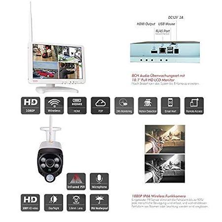 Tonton Routeur IPC extension de la port/ée sans fil pour le syst/ème de cam/éra de surveillance /à domicile Blanc r/ép/éteur Booster Extender IPC routeur pour cam/éra IP avec r/ép/éteur WiFi