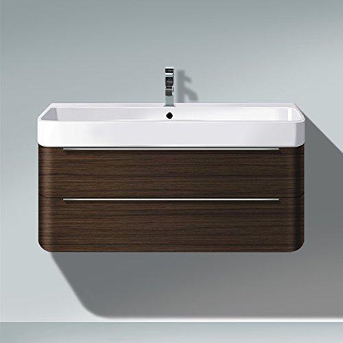 Unit Duravit Vanity (Duravit H2636507272 HD2 Vanity unit WM Brush Dk Oak 380x775x480mm, f.231880, 2 drawers Natural Dark)