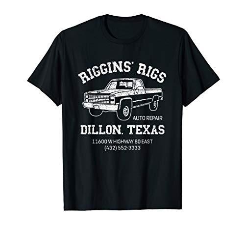 Riggins Rigs T Shirt Dillon Texas Football Fan Shirt
