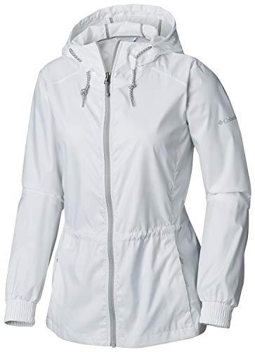 Columbia Women's Plus Size Proxy Falls Jacket, White, 2X ()