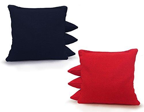 Tailgating Pros Cornhole Bags - 8 Regulation Size Corn Hole Bags - 25+ Colors Options