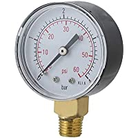 sahnah Practical Pool SPA Filter Water Pressure Gauge
