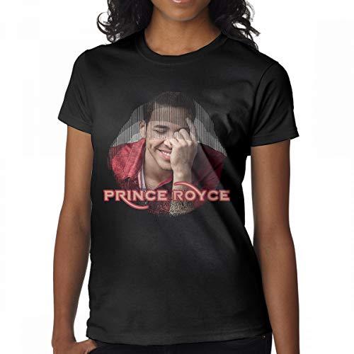 Avis N Women's Prince Royce Tees Black XXL -