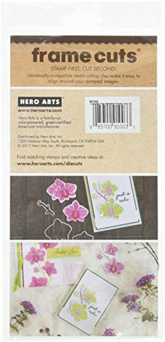 (Hero Arts DI342 Frame Cuts, Luggage Tag Alphabet)