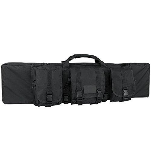 Condor Single Rifle Case (Black, 42 x 12 x 3-Inch)