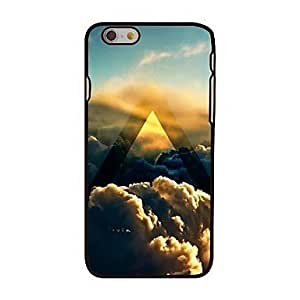 """For iPhone 6 Plus Case, Fashion Triangle and Sky Pattern Protective Hard Phone Cover Skin Case For iPhone 6 Plus (5.5"""") + Screen Protector"""