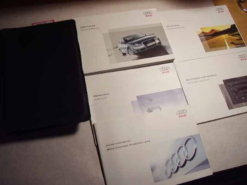 2005 audi a4 owners manual - 2