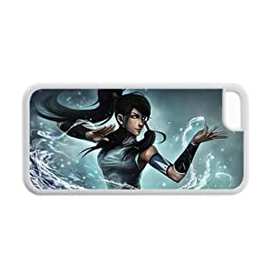 Generic Gel Quilted Back Phone Cover For Boy Print With The Legend Of Korra For Apple Iphone 5C Choose Design 1