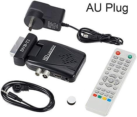 Wewoo - Receptor de satélite digital 1080P HDMI (euroconector DVB T2, TV Box con mando a distancia): Amazon.es: Electrónica