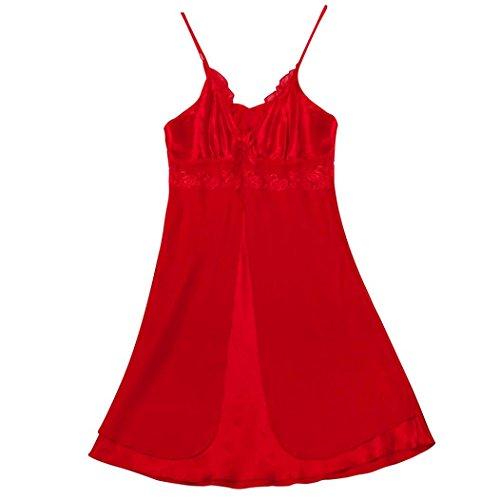 DongDong Hot Sale! Lady's Sexy Lingerie Fashion Plus Size Lace Babydoll Set Sleepwear Underwear for $<!--$0.51-->