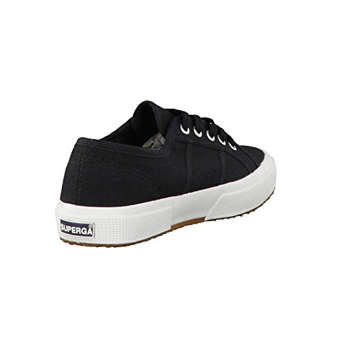 Superga S4s, Chaussures de Gymnastique Mixte Adulte BLACK-FWHITE