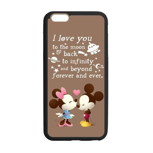 Mouse Costumes Diy (Generic Cute Cartoon Mickey Mouse Phone Case for iPhone 6/6S 4.7 inch)