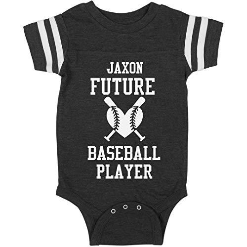Jaxon Future Baseball Player: Infant Rabbit Skins Football Bodysuit