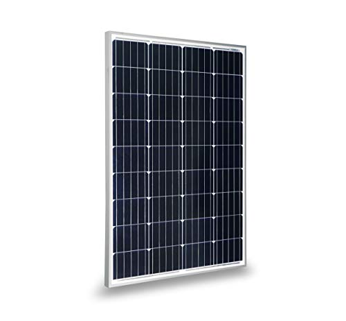 Solar Tied Power Grid System (RPS 100 Watt Monocrystalline Solar Panel for 12 Volt Battery Charging, RV, Boat, Off Grid (1 pcs))