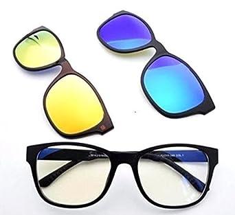 3fdaa1c6092 GosFrid Magnetic Polarized 3Pcs Clip-on Lens Glasses Shade Sunglasses Night  Vision Driving - 1pc