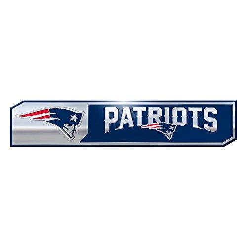 NFL New England Patriots Truck Emblem, 2-Pack