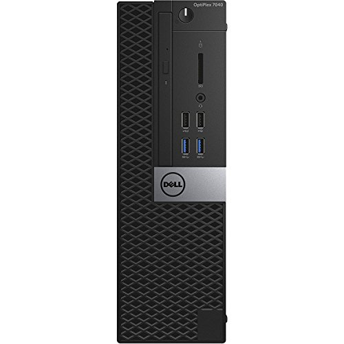 2018 Dell Optiplex 7040 Small Form Business Desktop Computer (Intel Core i5-6500 3.2GHz,8GB DDR3 RAM,256G SSD,DVD-ROM, Display Port, HDMI, USB 3.0, Windows 10 Pro 64-Bit) (Renewed) ()