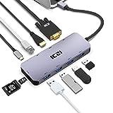 USB C Hub, ICZI USB Type C Hub 10 in 1 USB C