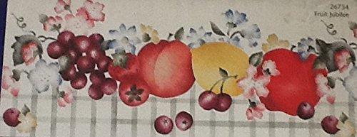 Fruit Jubilee - Plaid Stencil Decor Multi-layer Borders Stencil #26734