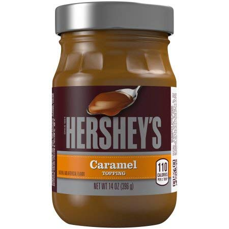 HERSHEY'S Caramel Topping (Pack of 36)