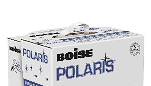 BOISE Polaris Premium Multipurpose Copy Paper, SPLOX (Easy carry box), 8.5 x 11, 97 Bright, 20 lb, Reamless (2,500 Sheets) by Boise Paper (Image #2)