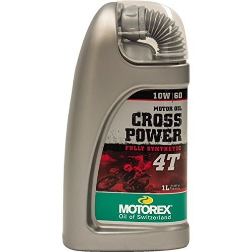 Price comparison product image Motorex Cross Power 4T 10W60 4 Liter (ea) for Motorcycles (C06019578)
