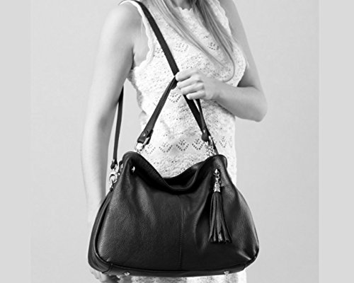 Italie Bordeaux sac sac Plusieurs Chloly Cuir A Femme Sac Coloris Main sac À Paris sac Main Cuir Paris fXTOzf