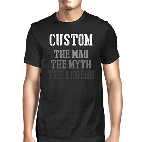 365 Printing Custom Name The Man Myth Legend T-shirt For Grandpa Dad Husband (Personalized Dad Shirts)