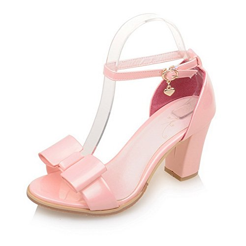 AN Womens Structured Mini-Size Dress Urethane Sandals DIU00793 Pink CqDMH9Yy