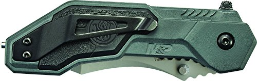 Smith-Wesson-Military-Police-SWMP1-MAGIC-Assisted-Opening-Liner-Lock-Folding-Knife-Clip-Point-Blade