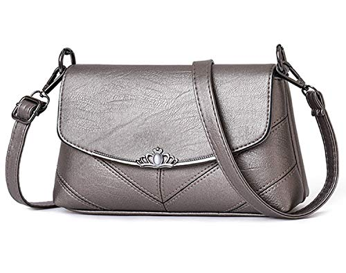 Purse Handbag 1 Crossbody Evening Shoulder Clutch Bags Silver Lovelelify Womens pPA0w