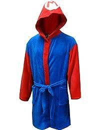 Mens Super Mario Plush Adult Robe