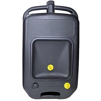 Amazon.es: Recogedor/Recipiente/Bandeja BIDÓN Aceite Coche Motor Usado Taller depósito 10 litros Universal - Profesional -