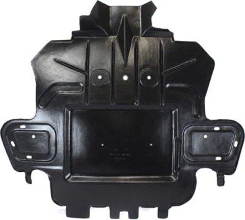 Crash Parts Plus Front Engine Splash Shield Guard for AWD 2008-2014 Cadillac CTS (Cadillac Cts Awd)