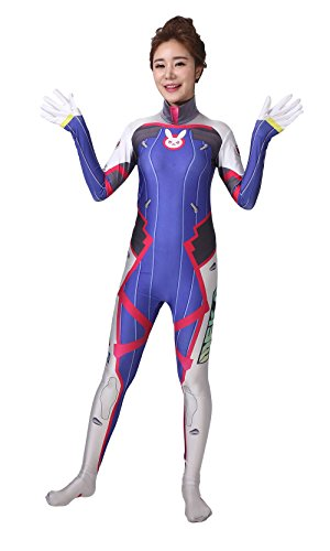 D'halloween Costume (ReliCos US Size Bodysuit Womens Cosplay)