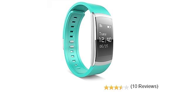 0.73 (pmoled Protector de I6 Pro rollo banda Bluetooth Pulsera inteligente pulsómetro deportes reloj inteligente sentido Sleep Actividad Tracker ...
