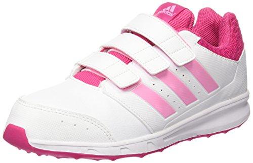 best sneakers 096b7 de1de adidas LK Sport 2 CF K, Zapatillas de Running Unisex Bebé Blanco  Rosa (