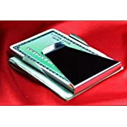 Stainless Steel Slim Money Clip Double Sided Credit Card Holder Wallet Clips Model: