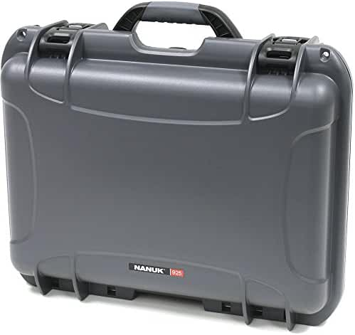 Nanuk 925-0007 925 Waterproof Hard Case, Empty, Graphite