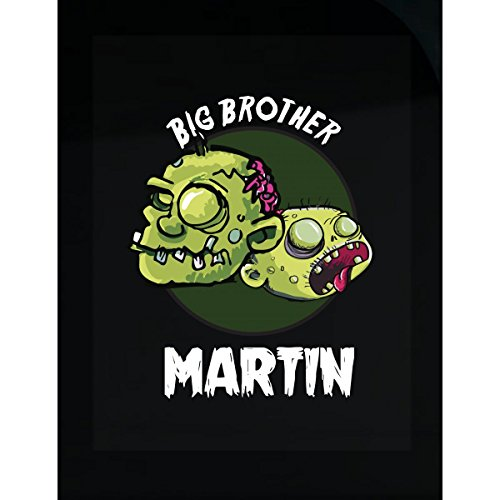 Prints Express Halloween Costume Martin Big Brother Funny Boys Personalized Gift - Sticker
